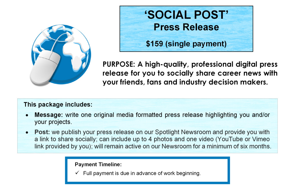 Price - Social page