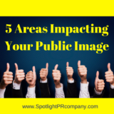5 Areas Impacting Your Public Image