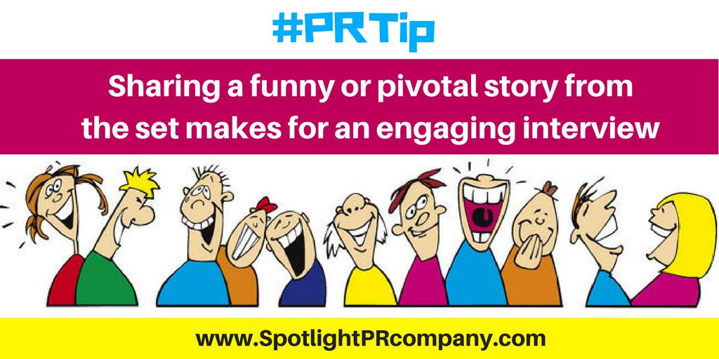 #PRTip - funny story long