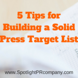 5 Tips for Building a Solid Press Target List
